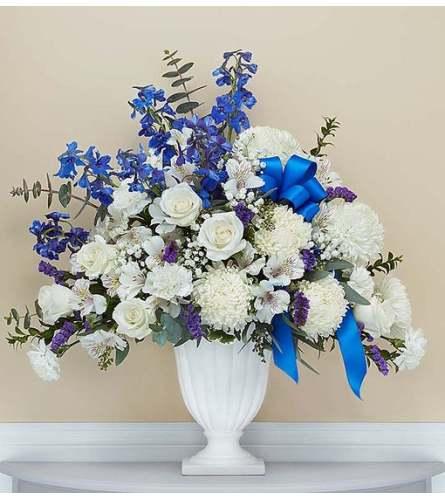 Gracious Pedestal- Blue