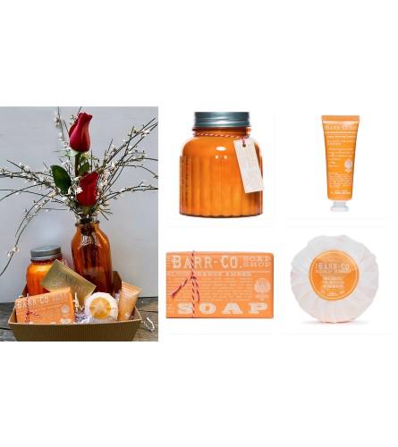 Barr Soaps-Blood Orange Gift Tray