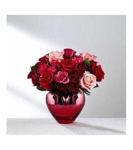 HOLD ME IN YOUR HEART ROSE BOUQUET FTD
