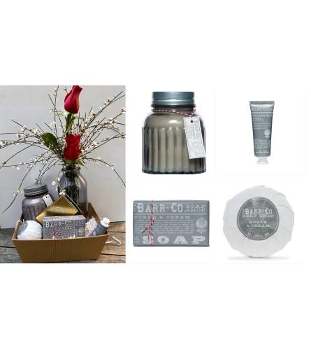 Barr Soaps-Sugar & Cream Gift Tray