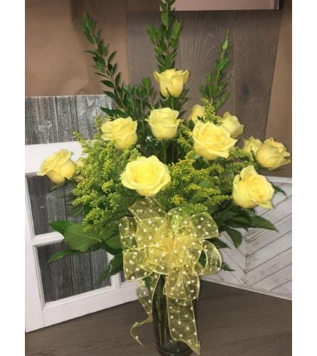 Yellow Splendor Roses
