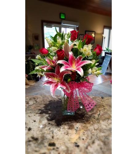 Loving Romance bouquet
