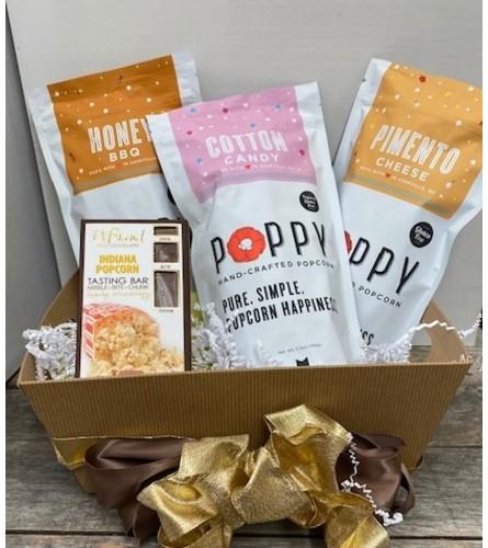 Poppy Popcorn & DeBrand Chocolate Popcorn Bar