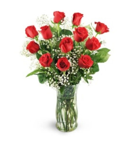 12 Red Roses 60 Minute Massage
