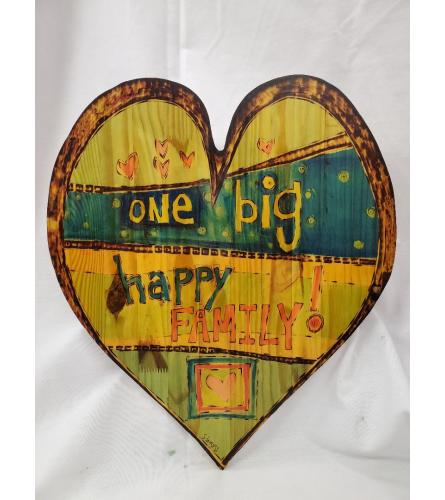 Wooden Heart Plaque