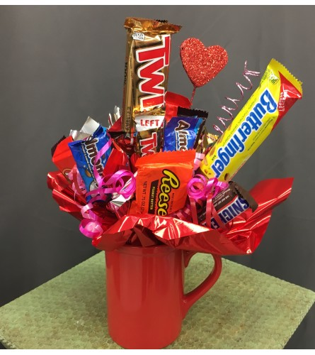Festive Candy Bouquet