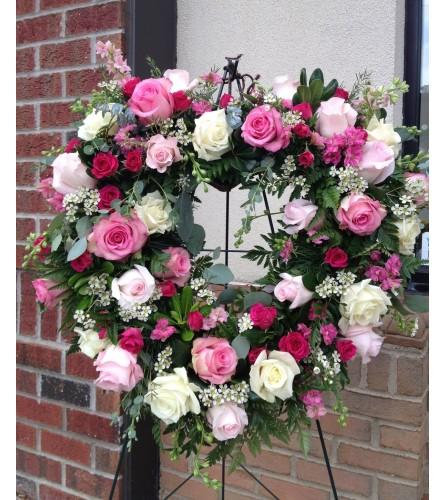 Elegant Roses Heart