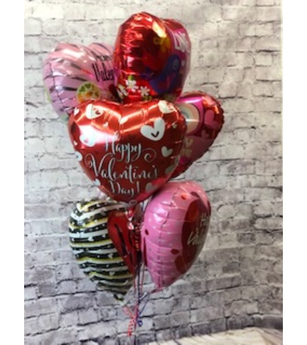 Valentine's Day Balloon Bouquet (6)