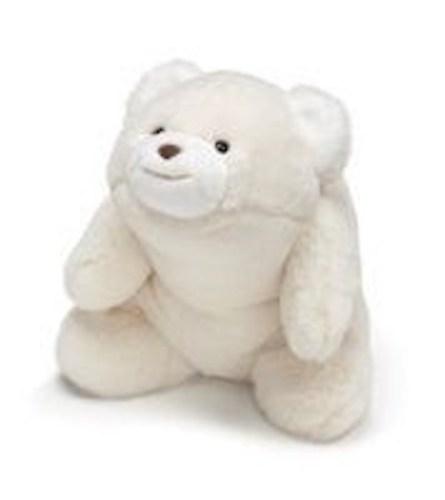 GUND White Snuffles Bear