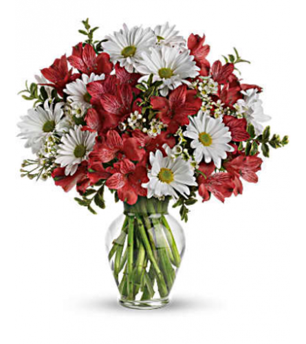 Red and White Love Bouquet