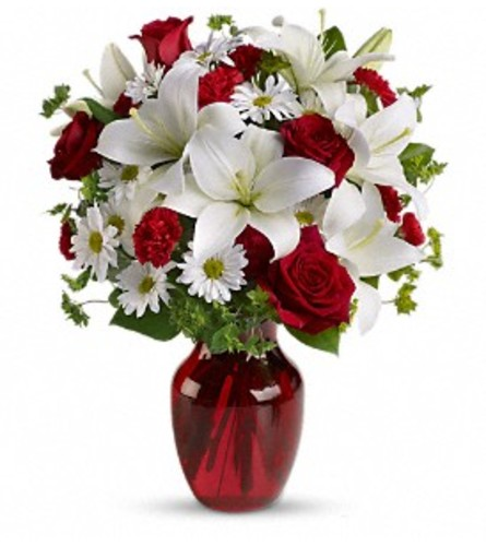 Be My Love Bouquet W/ Red Roses