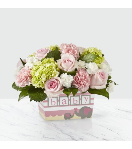 Darling Baby Girl Arrangement
