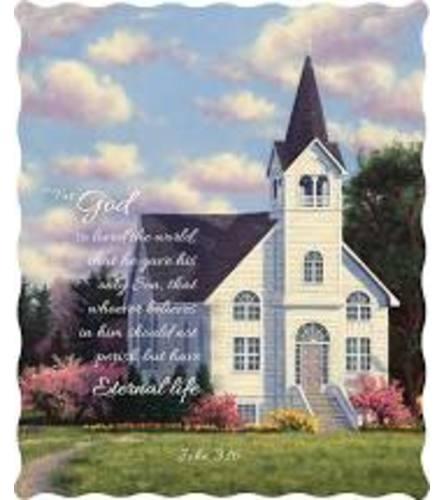 John 3:16 Tapestry Throw