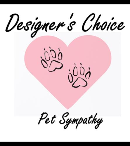 Designer's Choice-Pet Sympathy