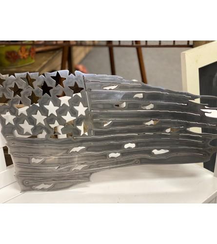 American Flag Metal