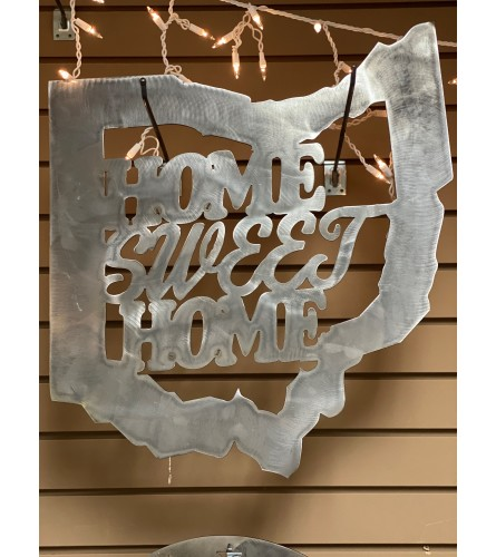 Ohio Home Sweet Home Metal