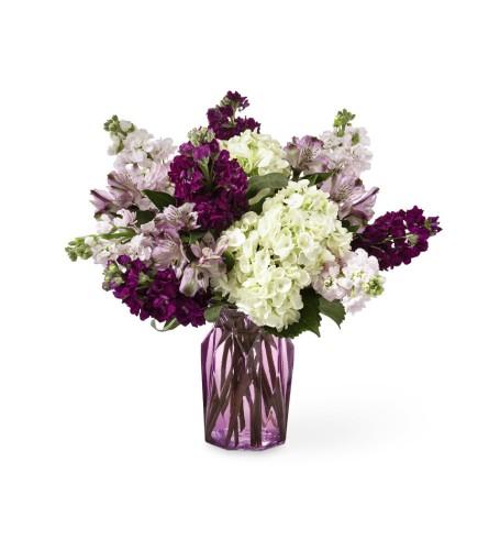 Violet Delight Vase