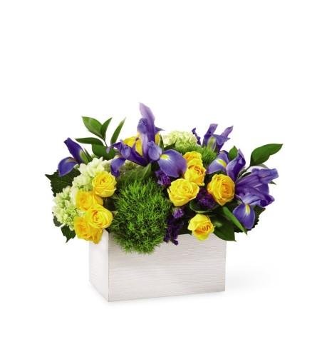 The Fields of Iris Box Bouquet