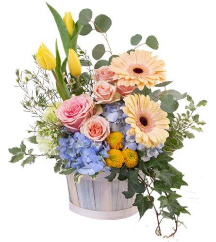 Spring Morning Basket