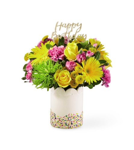 The FTD Birthday Sprinkles Bouquet