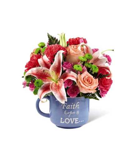 The Be Blessed Bouquet Mug