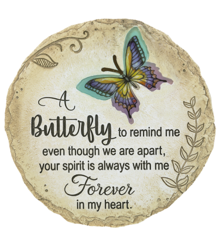 """Stepping Stone - """"A butterfly to remind me even..."""