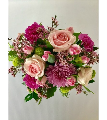 Lush hand-tied bouquet