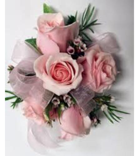 Pink Blush Wristlet