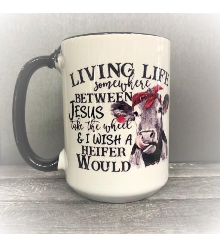 I Wish a Heifer Coffee Mug