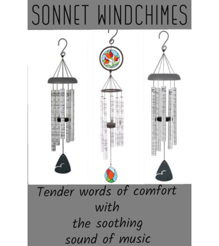 Wind Chime--Sonnet