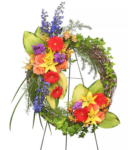 FSN- BRILLIANT SYMPATHY WREATH