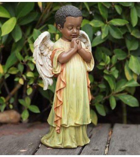 Praying African American Angel