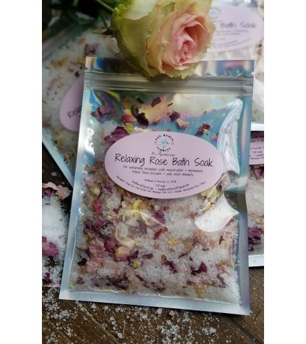 Relaxing Rose Bath Soak