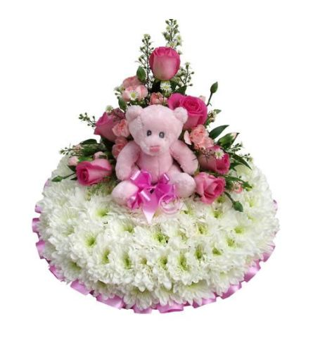 Casket Flowers Baby Girl