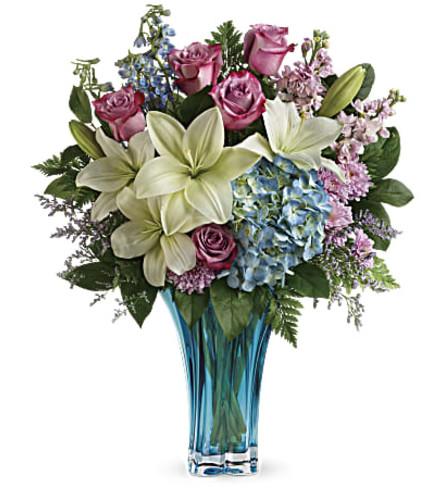Heart's Pirouette Spring Bouquet