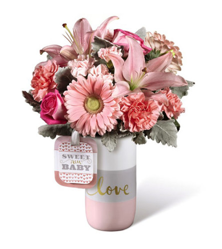 Sweet Baby Pink Love Bouquet