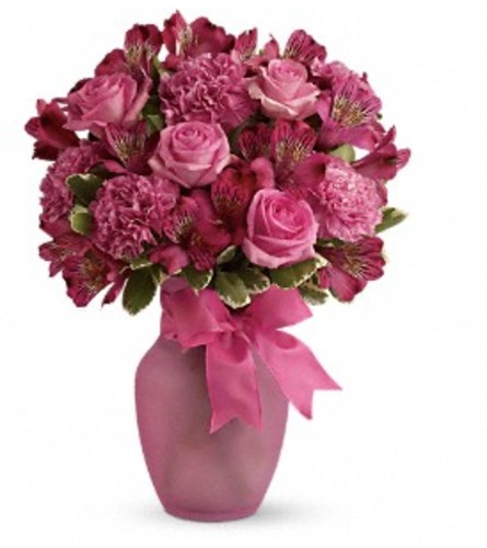 Teleflora's Pink Blush