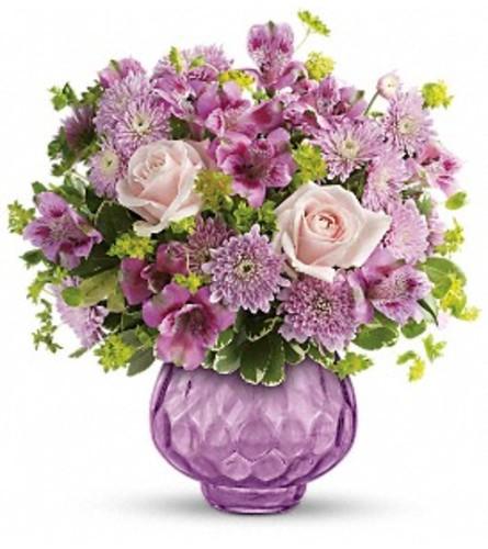 Teleflora's Lavender Chiffon Arrangement