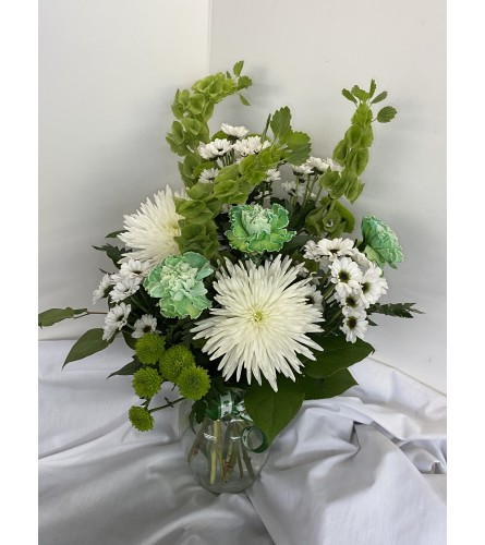 Easy being Green St. Patricks Bouquet