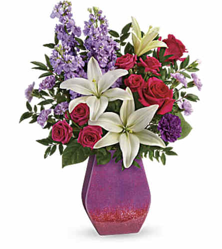Purple Blossoms Bouquet