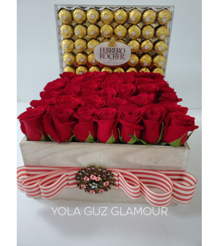 Channel Roses and Chocolates