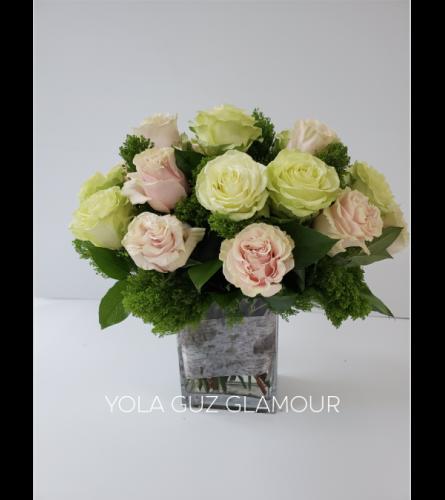 Pastel Garden Roses