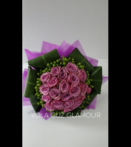 European Wrapped Bouquet