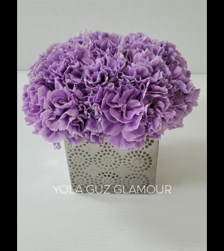 Purple Passion In Ceramic
