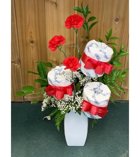 Bathroom Blooms Bouquet