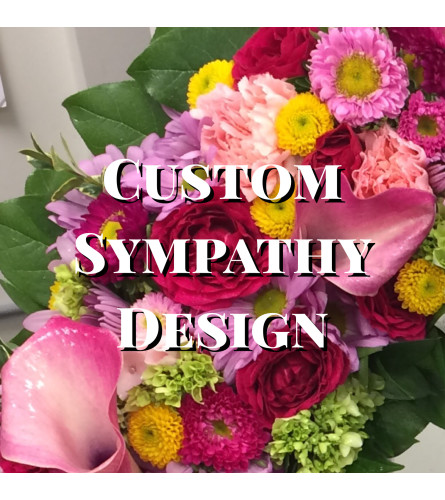 Sympathy Wreath, Custom