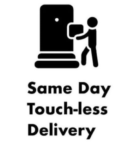 Same Day Touch-less Delivery Available