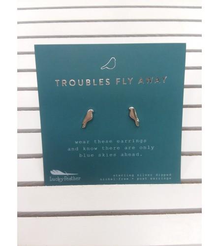 Earrings - Bird