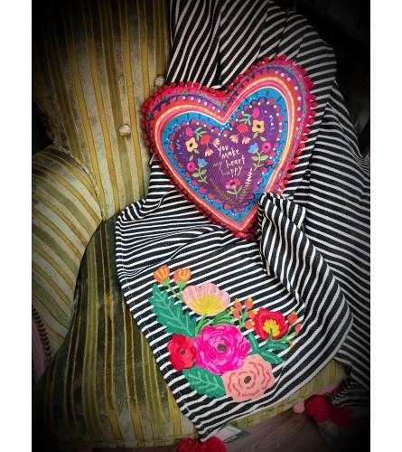 Happy Heart Quarantine Cozy
