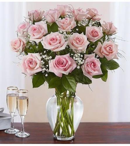 Pink Roses Luxury